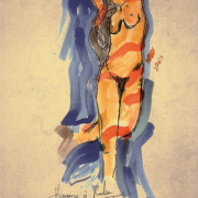 Hommage à Rodin XV